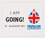 I am going to DrupalCon London!