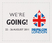 We're going to DrupalCon London!
