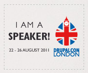 I am speaking at DrupalCon London!